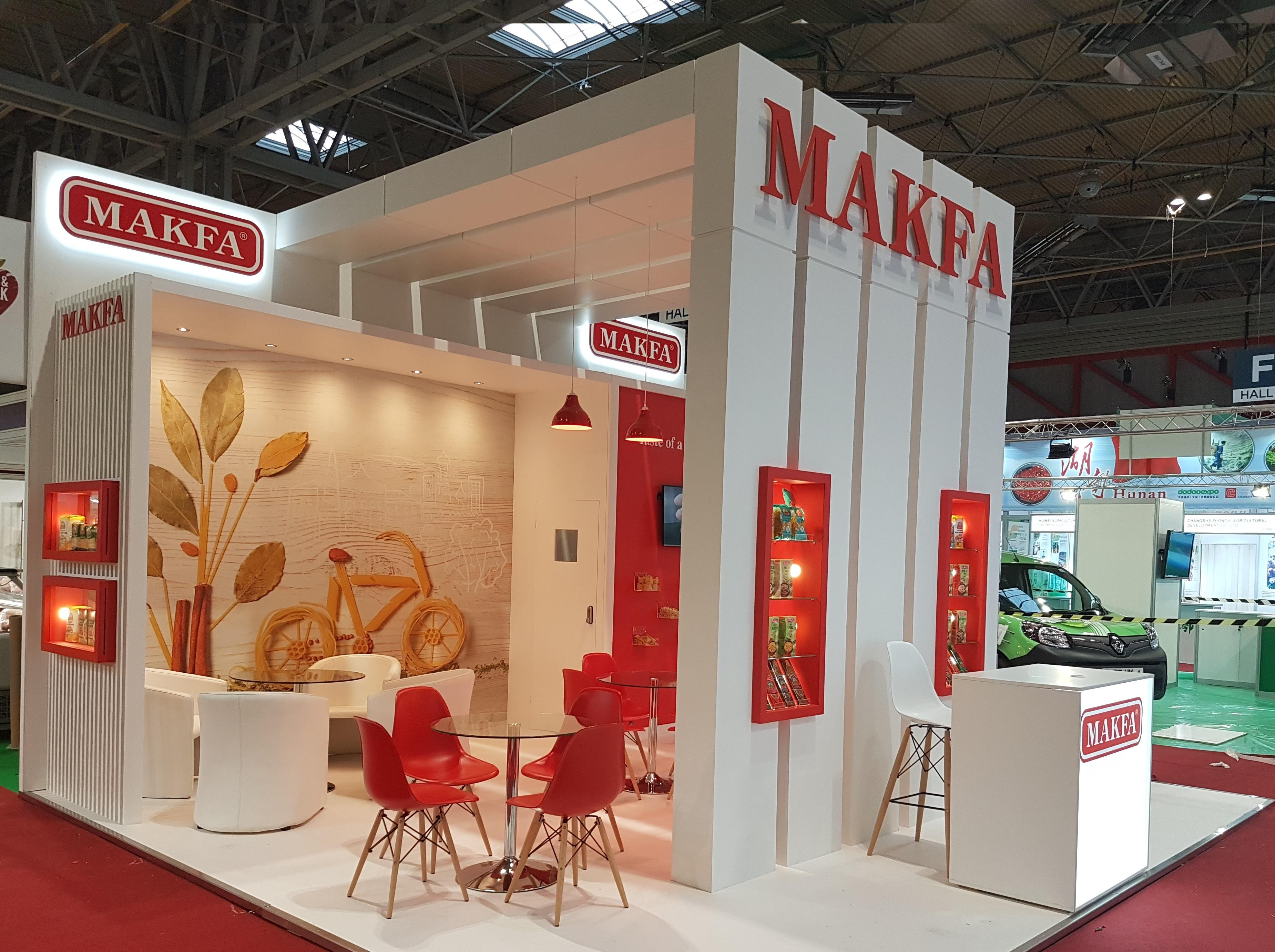 CASE STUDY: Mafka exhibition stand - Food & Drink Expo, 16-18 April 2018, NEC, Birmingham
